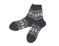 Warm, soft hand-knitted socks. Perfect gift for yourself and for others. They are ideal for cozy evenings at home during cold seasons. Stretch knit will easily adapt to your feet. _________________________________  MATERIAL: natural sheep wool  APPROXIMATE SIZE: USA men 5.5-7 USA women 7-8.5 EU 37.5-39 UK men 5-6.5 UK women 4.5-6 Australia men 5-6.5 Australia women 5.5-7 _________________________________  SHIPPING: We only ship using registered mail so you will receive a tracking number…