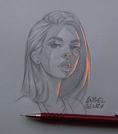 This illustrator creates exceptional light effects on his drawings - tattoo ideas Girl Drawing Sketches, Pencil Art Drawings, Cool Art Drawings, Drawing Ideas, Drawing Tips, Graphite Drawings, Arte Inspo, Illustrator, Art And Illustration