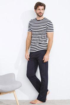 women'secret | Products | Long striped pyjama for men