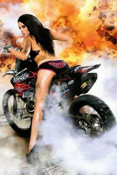 Motorcycle Girl Hot Wheels 36 New Ideas Motorbike Girl, Chopper Motorcycle, Lady Biker, Biker Girl, Biker Boys, Motos Sexy, Pin Up, Babe, Hot Bikes