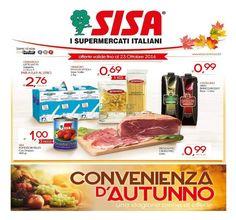 Promozioni valide fino al 23 ottobre 2016 in tutti i supermercati SISA della Puglia.  Vai sul sito www.sisacentrosud.it.  #Puglia #lecce #andria #trani #foggia #bari #barletta #gallipoli #food #ig_puglia #volgopuglia #volgobari #volgolecce #igerspuglia