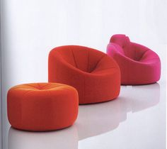 ligne roset Home Ligne Roset, House Furniture Design, My Furniture, Living Room Furniture, Sofa Bench, Sofa Chair, Armchair, Prado, Take A Seat