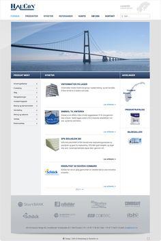 For HauCon Norge har vi levert 6 websider. Nettsidene designet vi i Bonefish sammen med HauCon. De var tidlig klare på hva de ville ha så vi tok imot deres innspill og designet et oppsett som resulterte i en nettside de ble svært fornøyd med. Vi satte i tillegg opp en skreddersydd produktkatalog som er både er enkel og oversiktlig samt at det gjør det enkelt for HauCon og oppdatere deres store produktportefølje direkte på nett via publiseringsverktøyet (CMS) sidene er satt opp med.