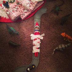 Oh no!! Elf has been taken hostage!