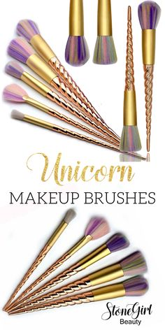 PRE RELEASE! Our new unicorn makeup brushes are on the way!