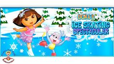 #Gameplay Dora Games | Dora's Ice Skating Spectacular - Games for Kids