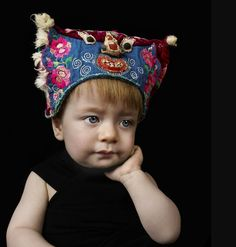 Photo by Olaf Blecker for International Wardrobe gorgeous authentic baby hats