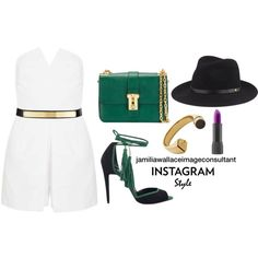 Ideal Image by jamilia-wallace on Polyvore featuring polyvore fashion style Pierre Hardy Valentino Yves Saint Laurent rag & bone St. John
