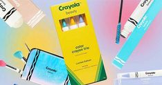 Remember looking like a boss when you pulled out a 64-count box of Crayola crayons in elementary school? Crayola is back, and this time with a 54 piece makeup collection that encourages play.