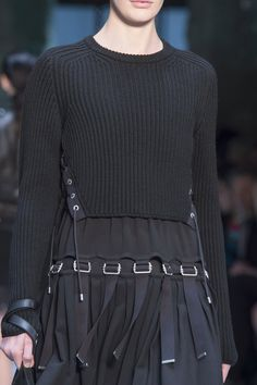 Diesel Black Gold at New York Fall 2015 (Details)