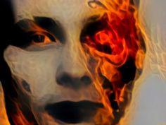 Гд-Ѵ Қґҵҏд • Deep Dream Generator Halloween Face Makeup, Digital Art, Deep, Painting, Painting Art, Paintings, Painted Canvas, Drawings