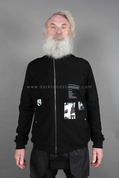 'Knives' Printed zip-up jumper | Products | Darklands
