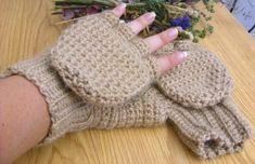 Alpaca Convertible Mittens - Beige Convertible Mittens - Wool Convertible Mittens - Alpaca Glittens - Wool Glittens - Alpaca Mitts - Oatmeal #bestofEtsy #etsy #handmade #design #etsymntt #etsyretwt #gifts #crochet #etsycrochet #crochetaddict