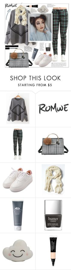 """""""Romwe.Geometric Pattern Drop Shoulder Sweater"""" by natalyapril1976 ❤ liked on Polyvore featuring G-Star Raw and Gucci"""
