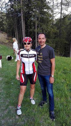 Giro - photo with Erik Zabel