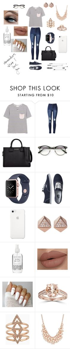 """""""Always remember to love!😘😍"""" by kenzierae45 ❤ liked on Polyvore featuring Chinti and Parker, Karl Lagerfeld, Vans, FOSSIL, Herbivore, Bliss Diamond, Stella & Dot, Charter Club and Forever 21"""