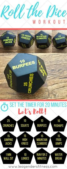 ROLL THE DICE WORKOUT AND GIVEAWAY — Lea Genders Fitness