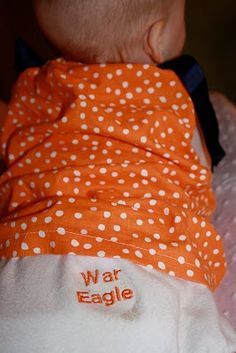 Cutest Baby Game Day Outfit!
