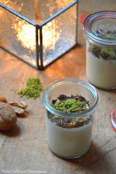 Petite Cuillère et Charentaises: Crème de Yaourt au Chocolat blanc et aux Quatre Mendiants pour Noël {Battle Food #26}