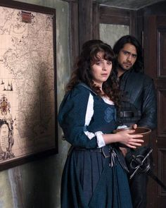 The Musketeers - Constance and D'Artagnan