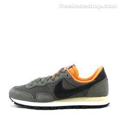 huge discount b74d6 1d7c8 Nike Air Pegasus 83 - Dark Pewter Atomic Orange White