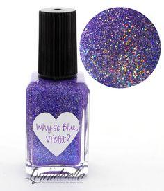 Lynnderella Limited Edition Nail Polish—Why so Blue, Violet? #Lynnderella