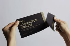 The Conqueror Awards 2012 by Anonymous