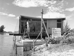 Healy Guest House (Cocoon House) 1950, designed by Ralph Twitchell and Paul Rudolph