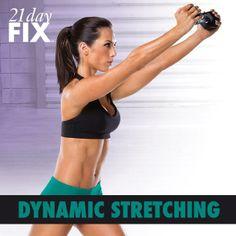 21 Day Fix Dynamic Stretching #21dayfix