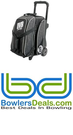 2 Balls 71095: Dv8 Circuit Double Roller 2 Ball Bowling Bag Grey BUY IT NOW ONLY: $104.99