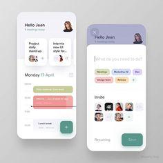 Instagram Android Design, App Ui Design, User Interface Design, Flat Design, Design Design, Design Thinking, Motion Design, Ui Design Mobile, Ui Design Inspiration