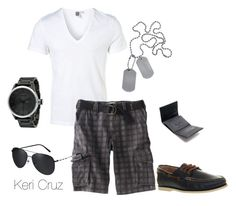 """""""Time off"""" by keri-cruz ❤ liked on Polyvore featuring Topman, Nixon, Zara, Burberry and Ralph Lauren"""
