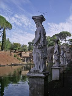Villa Adriana, Tivoli, Rome, Italy. Our tips for 25 Places to See in Italy: http://www.europealacarte.co.uk/blog/2012/01/12/what-to-do-in-italy/