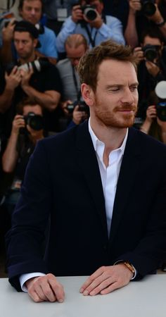 Michael Fassbender. The hands...I love his hands.
