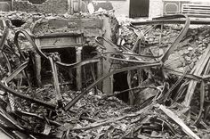 The ruins of the Regensburg Synagogue after Kristallnacht, 10 November 1938. The Jewish community in Regensburg, Bavaria existed as far back as the 11th century. At its height, at the end of the 19th century, the community numbered some 670 Jews. When the Nazis rose to power in Germany in 1933, there were approximately 420 Jews living in Regensburg