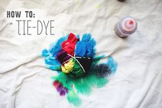 http://inthelittleredhouse.blogspot.com/2012/07/how-to-tie-dye.html by the little red house, via Flickr