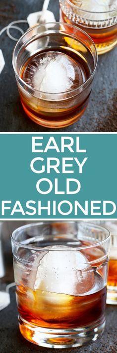 Earl Grey Old Fashioned