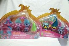 Trolls Poppys Fashion Frenzy and Wild Hair Pack Playset Hasbro 2016 DreamWorks Movie Hot Toy for the Holidays