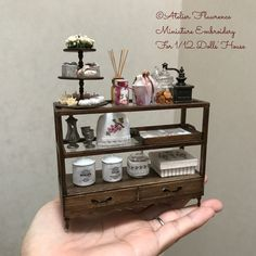 2017. Miniature Cabinet ♡ ♡ By Atelier Flawrence