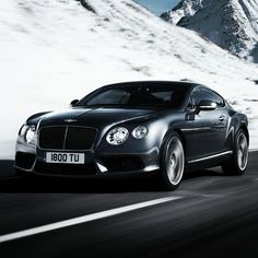 The Lavish Bentley Continental GT via carhoots.com