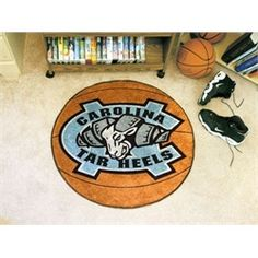UNC University of North Carolina Basketball Floor Rug Mat