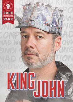 King John — Revolution Shakespeare - Free performances in Philly from Sept 23-October 1, 2016