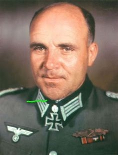 Third Reich Color Pictures: Heer Generalmajor