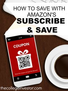 If you're looking for a super easy way to lower your everyday expenses here's how to save money  with Amazon Subscribe and Save. http://thecollegeinvestor.com/15969/how-to-save-money-with-amazon-subscribe-and-save/