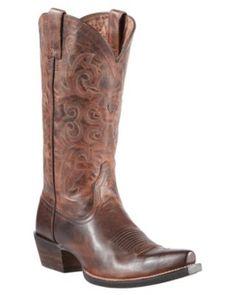 Ariat® Alabama™ Women's Sassy Brown Snip Toe Western Boots