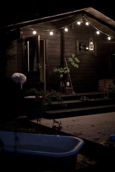 Vihreä talo: Syyskuinen iltakylpy