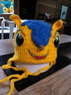 "Touca ""Tatu-bola"" mascote da copa do mundo 2014"