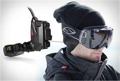 A virtuális szemüveg, ami síjelés közben sem zavar * The argumented reality goggles that helps you skiing
