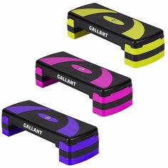 Gallant Adjustable Aerobic Stepper Height Fitness Exercise Step Gym Yoga Board