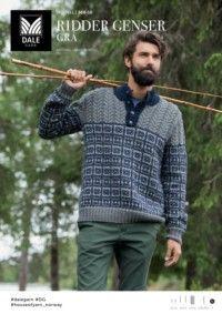 41809acc DG368-10 Ridder genser – grå – Dale Garn | Herretøj | Men sweater ...